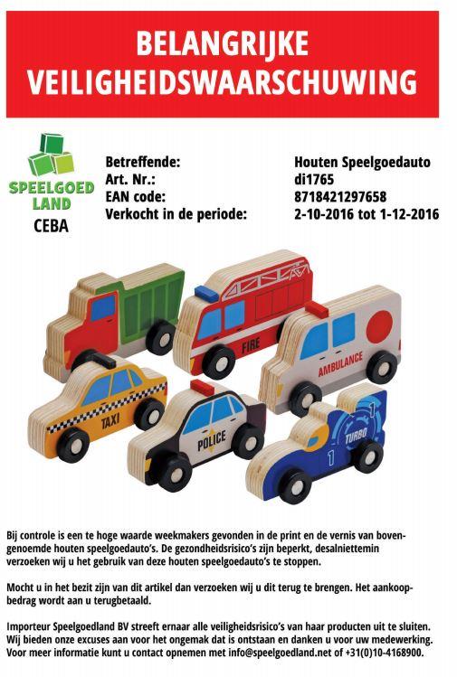 Action speelgoed auto