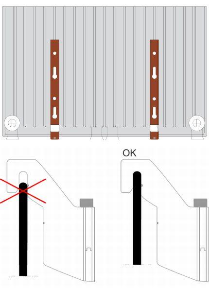 veiligheidswaarschuwing radson verticale radiatoren. Black Bedroom Furniture Sets. Home Design Ideas