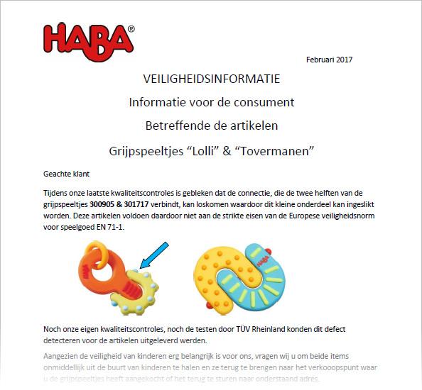 8d66475bccdd09 Terugroepacties van producten voor kinderen   Pagina 13 van 40 ...