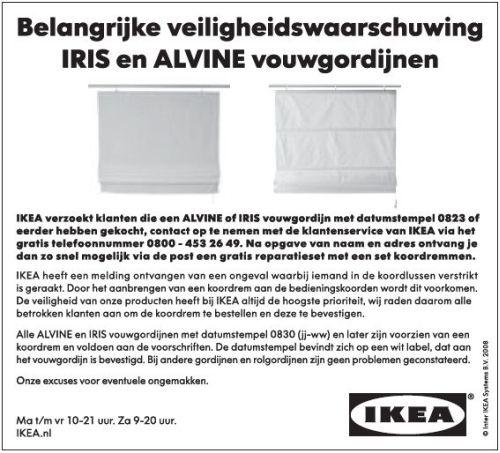 IKEA advertentie