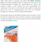 Terughaalactie AH Basic Gerookte Zalm