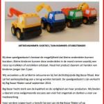 Terughaalactie speelgoedauto's Big Bazar