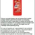 Terughaalactie Frisson Extreme Red Sanitair Reiniger