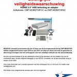 "Terughaalactie König 3.5"" HDD behuizing en adapter"