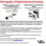 Terughaalactie König USB 2.0 IDE/SATA adapter