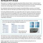 Allergiewaarschuwing Nutrilon Pepti 1 en 2