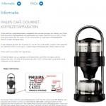 Terughaalactie Philips Café Gourmet koffiezetapparaten