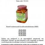 Terughaalactie Tian Fu Chili Bean Curd