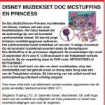 Terughaalactie Disney muzieksets verkocht bij Trekpleister