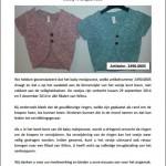 Veiligheidswaarschuwing baby meisjesvest Wibra