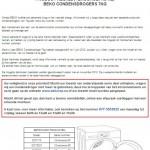 Terughaalactie BEKO condensdroger