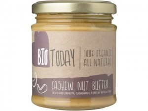 Allergiewaarschuwing BioToday Cashew Nut Butter