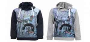 Veiligheidswaarschuwing terStal Familiemode jongensvesten en -sweatshirts - Sweatshirts