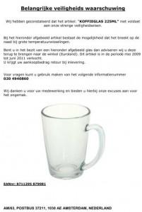 recall_euroland_koffieglas