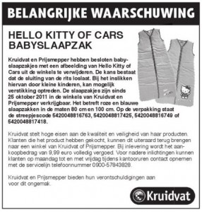 recall_kruidvat-prijsmepper_babyslaapzak