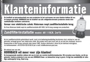 recall_hornbach-waterman_zandfilter