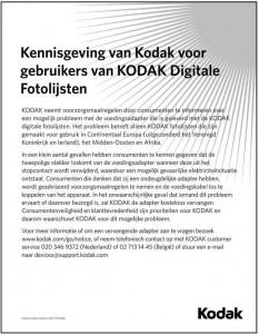 recall_kodak_digitale-fotolijstjes
