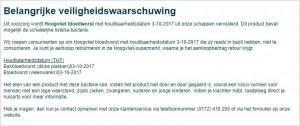 recall_hoogvliet_bloedworst