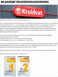 recall_kruidvat_extra-care_zuigelingenvoeding