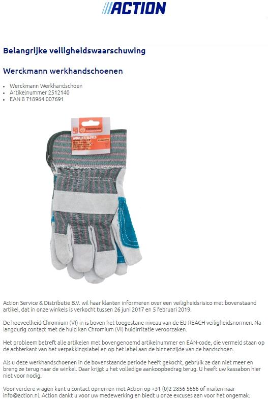 terugroepacties gereedschap | productwaarschuwing.nl