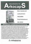 Advertentie terugroepactie St. Janskruid Arkocaps