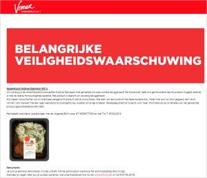 Advertentie Vomar Keukenkunst Andijvie Stamppot
