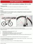 Advertentie terugroepactie Cannondale CAADX cyclocrossfietsen