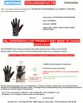 Advertentie terugroepactie Decathlon Gouganza paardrijhandschoen