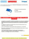 Advertentie terugroepactie Simond Toucan Light zekeringssysteem (Decathlon)