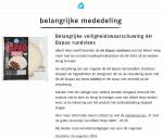 Advertentie allergenenwaarschuwing AH Bapao Rundvlees