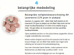 Advertentie Albert Heijn Leverworst in plakjes
