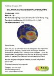 Advertentie allergenenwaarschuwing Mr. Kon's Noodle Bowl Fish & Shrimp
