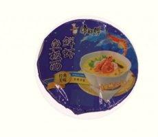 Allergenenwaarschuwing Mr. Kon's Noodle Bowl Fish & Shrimp