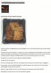 Advertentie allergenenwaarschuwing De Kroes Nasi Goring Ajan Ketjap en boontjes