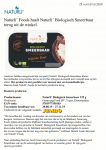 Advertentie allergenenwaarschuwing Naturli' Biologisch Smeerbare