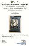 Advertentie terugroepactie Texel Chips Zilte Zeekruiden