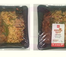 Allergenenwaarschuwing Vomar Keukenkunst en De Kroes Nasi Goreng Ajam Ketjap