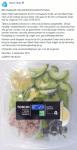 Advertentie terugroepactie AH Lunchsalade Tonijn