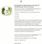Advertentie terugroepactie AH Maaltijdsalade Tonijn (v2)