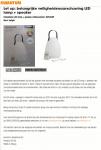 Advertentie terugroepactie Kwantum Delight LED lamp met luidspreker
