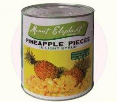 Terugroepactie Mount Elephant Pineapple Pieces (Ananasstukjes) Liroy BV