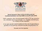 Advertentie terugroepactie Lucullus gebakken uitjes