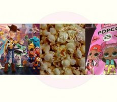 Allergenenwaarschuwing Toy Story en LOL Surprise popcorn (Primark)