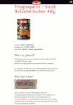 Advertentie allergenenwaarschuwing Struik Hollandse Hachee