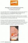 Advertentie allergenenwaarschuwing COOP Kipfilet gedroogde tomaat (vleeswaar)