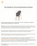 Advertentie terugroepactie Stokke Steps Bouncer en Stokke Steps Newborn Set
