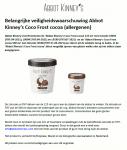 Advertentie allergenenwaarschuwing Abbot Kinney's Coco Frost cocoa