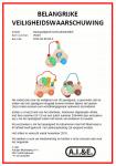 Advertentie terugroepactie duwspeelgoed met kralendoolhof A.I.&E.