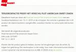 Advertentie terugroepactie Proef het Verschil filet americain sweet onion DekaMarkt