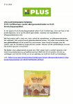 Advertentie allergenenwaarschuwing PLUS Tortillawraps